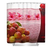 Spa Elements Shower Curtain