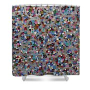 Space 2016 Shower Curtain
