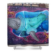 Space Dream Shower Curtain