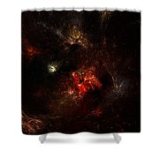 Space Nebula 2 Shower Curtain