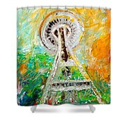 Space Needle 2016 Shower Curtain