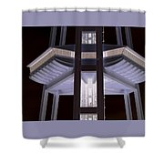Space Needle Base Shower Curtain