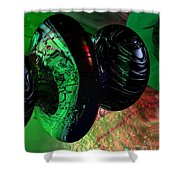 Space Reflections Shower Curtain