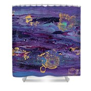 Space Royalty Shower Curtain