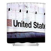 Space Shuttle Atlantis Shower Curtain