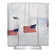 Space Shuttle Shower Curtain