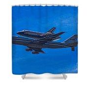 Space Shuttle Endevour Shower Curtain