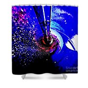 Space The Other Dimension Shower Curtain