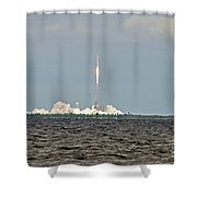 Space X  2 Shower Curtain