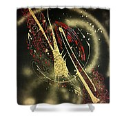 Space2 Shower Curtain