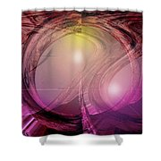 Spacebase Shower Curtain