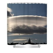 Spacecloud Shower Curtain