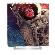Spaced Shower Curtain