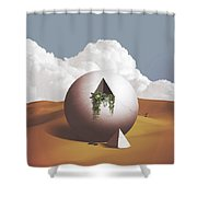Spacemen Shower Curtain