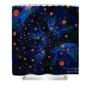 Spacey  Shower Curtain
