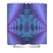 Spacial Conundrum Shower Curtain