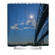 Spacious Skies Shower Curtain