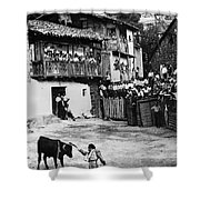 Spain: Bullfight Shower Curtain