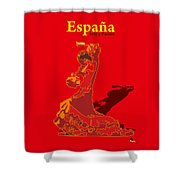 Spain Reed  Shower Curtain