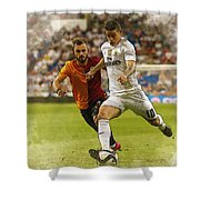 Spain Soccer Bernabeu Trophy Shower Curtain