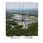 Spallation Neutron Source Shower Curtain