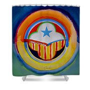 Spanish American Shower Curtain