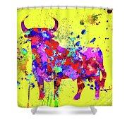 Spanish Bull  Toro Bravo Shower Curtain