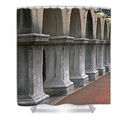 Spanish Columns Shower Curtain