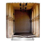 Spanish Corridor Shower Curtain