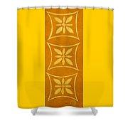 Spanish Gold Rectangle Shower Curtain