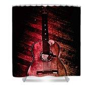 Spanish Guitar Shower Curtain