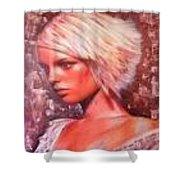Spanish Lady  Shower Curtain