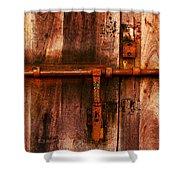 Spanish Latch Shower Curtain