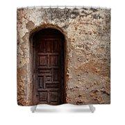 Spanish Mission Doorway Shower Curtain