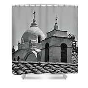 Spanish Mission Shower Curtain