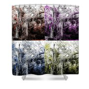 Spanish Moss Beauty Of Color Shower Curtain