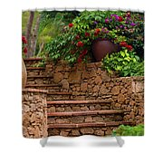 Spanish Retreat Shower Curtain