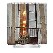 Spanish Siesta Shower Curtain
