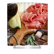 Spanish Tapas Shower Curtain