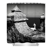 Spanish View Shower Curtain