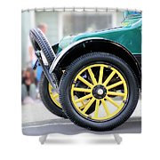 Spare Tire Shower Curtain