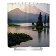 Spark Of Light Shower Curtain
