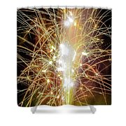 Spark Of The Fountain Shower Curtain