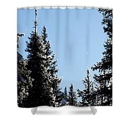 Sparkle And Glitter Shower Curtain
