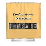 Sparkle Shower Curtain