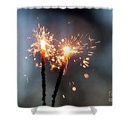 Sparkler Shower Curtain