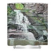 Sparkling Falls Shower Curtain
