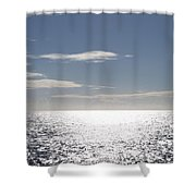 Sparkling Ocean Shower Curtain
