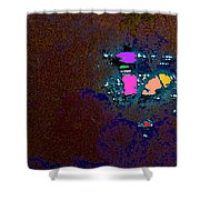 Sparkling Sunrise Shower Curtain