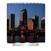 Sparkling Tampa Bay Shower Curtain
